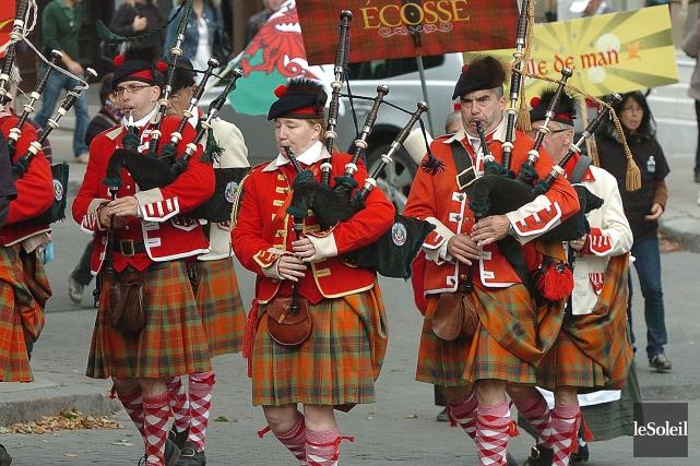 Le Festival celtique de Québec aura lieu du... (Photothèque Le Soleil, Jean-Marie Villeneuve)