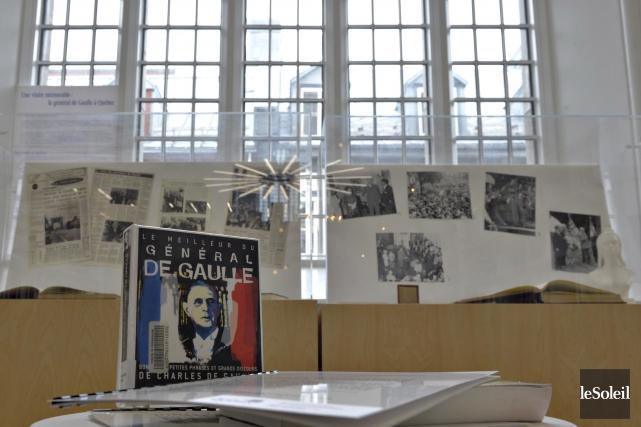 Des archives municipales du passage de Charles de... (Le Soleil, Pascal Ratthé)