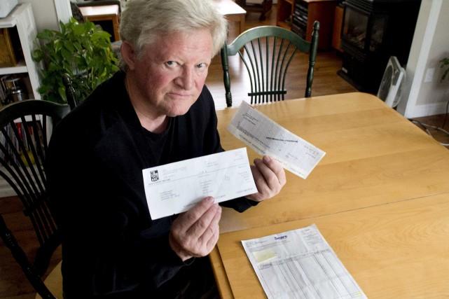 Philippe Landry digère mal le chèque de remboursement... (Sylvain Mayer)