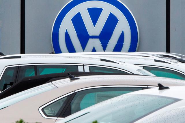 Volkswagen se serait dénoncé aux autorités anticartel en... (AFP, PAUL J. RICHARDS)