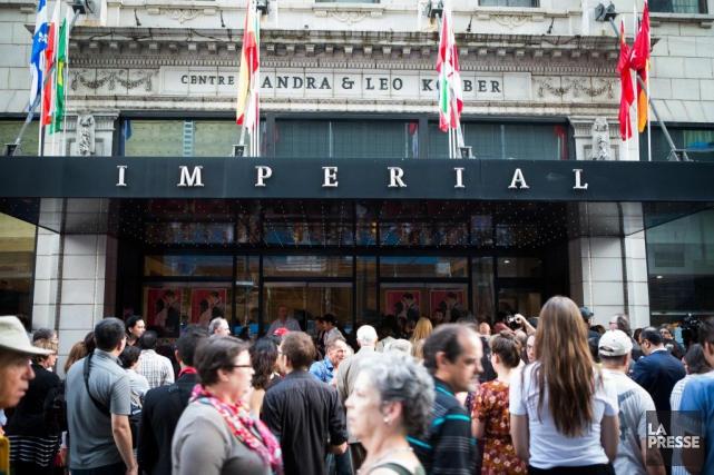Qu'adviendra-t-il du Cinéma Impérial, joyau montréalais inscrit au... (PHOTO OLIVIER PONTBRIAND, ARCHIVES LA PRESSE)