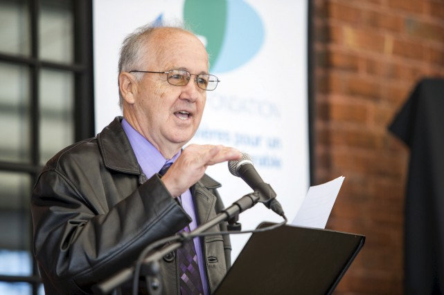 Laurent Pontbriand,fondateur et président d'Hépatites Ressources... (Olivier Croteau)