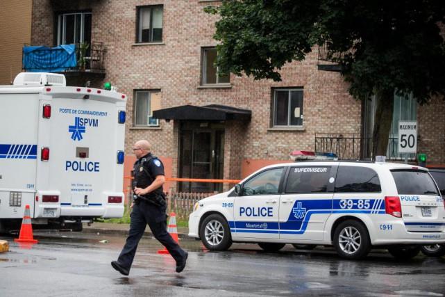 Vers 2h30 hier matin, une voisine a téléphoné... (Photo Marco Campanozzi, La Presse)