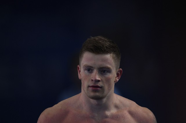 Adam Peaty... (Photo Christophe Simon, Agence France-Presse)