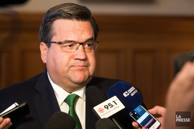 Denis Coderre... (Photo SIMON GIROUX, La Presse)
