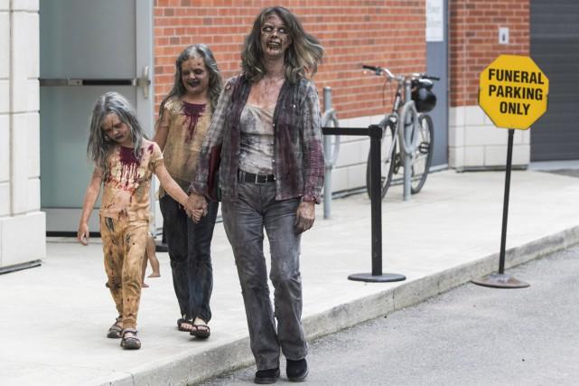 Leanne MacRae et ses deux filles se sont... (PHOTO LA PRESSE CANADIENNE)