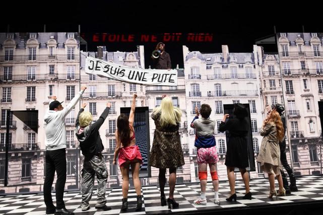 La pièce de 4h30 du directeur Olivier Py,... (PHOTO AFP)