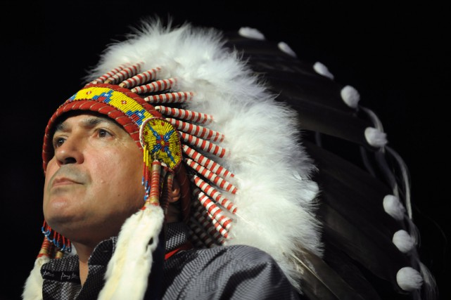 Perry Bellegarde... (Photo Mark Taylor, La Presse canadienne)