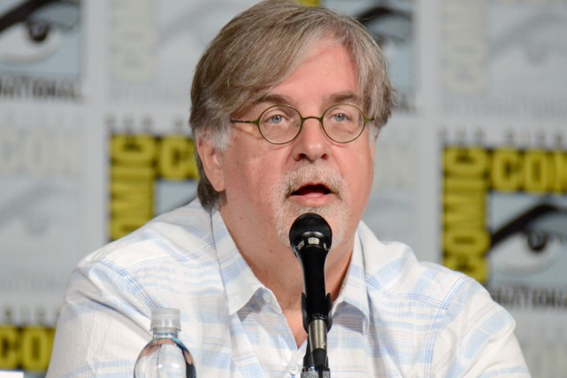 Matt Groening... (PHOTO ARCHIVES AP)