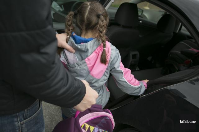 Les infractions sexuelles envers les enfants expliqueraient en partie la hausse... (Archives, La Tribune)