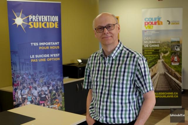 Le Centre de prévention du suicide de la... (Alain Dion, La Voix de l'Est)