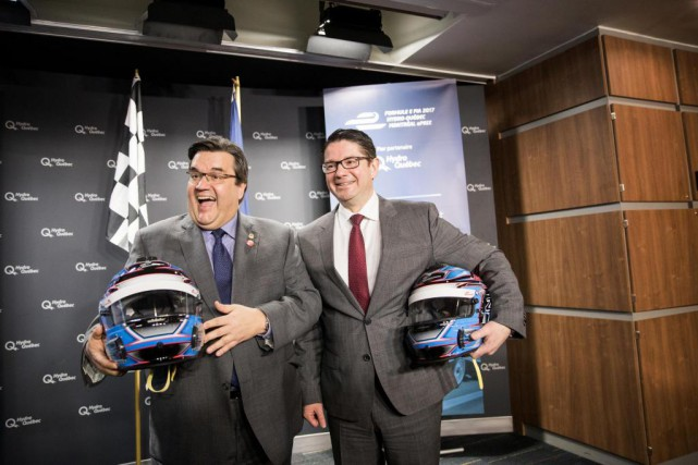 Le maire de Montréal, Denis Coderre, était en... (Photo Marco Campanozzi, Archives La Presse)