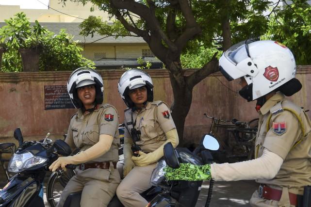 Afin d'inciter les femmes à porter davantage plainte... (AFP, Chandan Khanna)