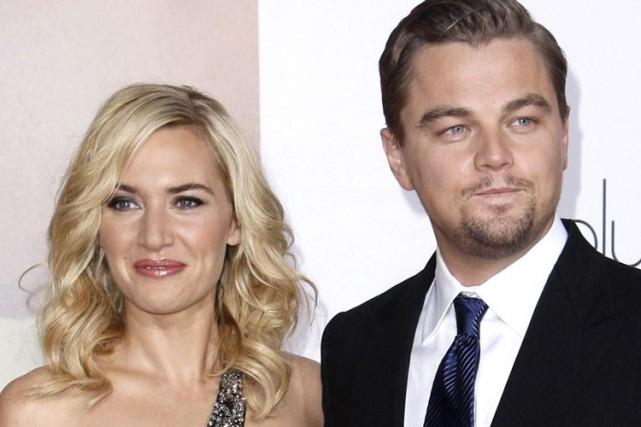 Kate Winslet et Leonardo DiCaprio... (Archives AP)