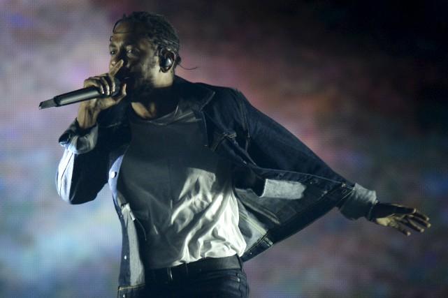 C'est Kendrick Lamar qui remporte le plus de... (Photothèque Le Soleil, Yan Doublet)