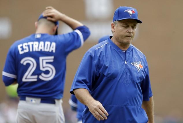 L'entraîneur John Gibbons.... (Photo Carlos Osorio, AP)