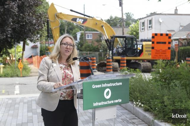 La députée fédérale d'Ottawa-Vanier, Mona Fortier... (Patrick Woodbury, Le Droit)