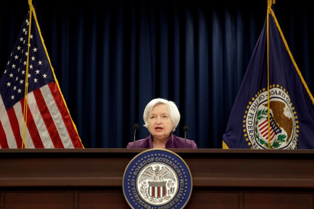 Janet Yellen... (REUTERS)