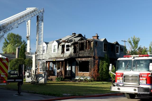 Les causes de l'incendie sont toujours inconnues. Des... (Photo Le Quotidien, Yohann Gasse)