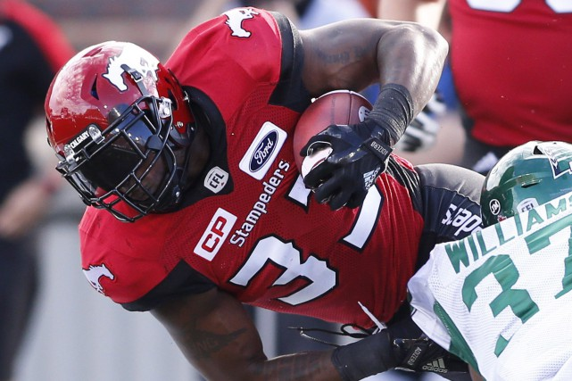Jerome Messam... (Photo Larry MacDougal, PC)