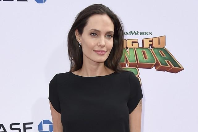 Angelina Jolie à la première Kung Fu Panda... (Photo Jordan Strauss, AP)