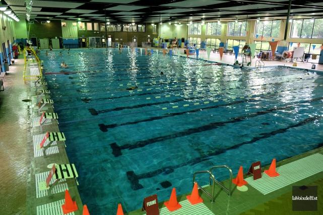 La piscine Miner... (Alain Dion, La Voix de l'Est)