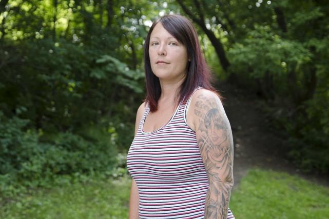 Stéphanie Roy souffre d'insomnie chronique depuis plus de... (Spectre Média, Stéphanie Vallières)