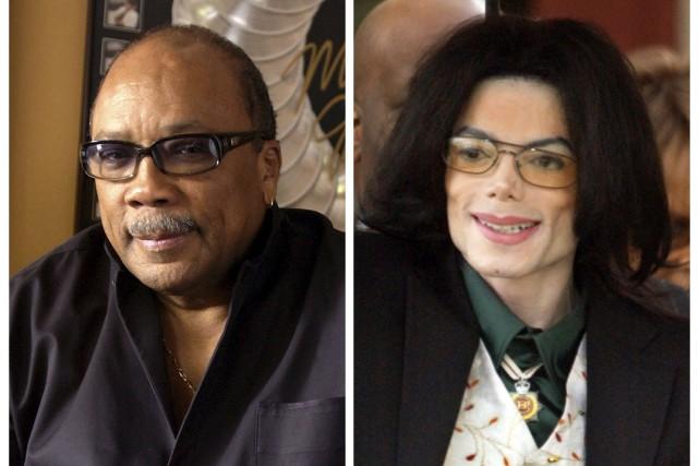Quincy Jones et Michael Jackson... (PHOTOS ARCHIVES AP)