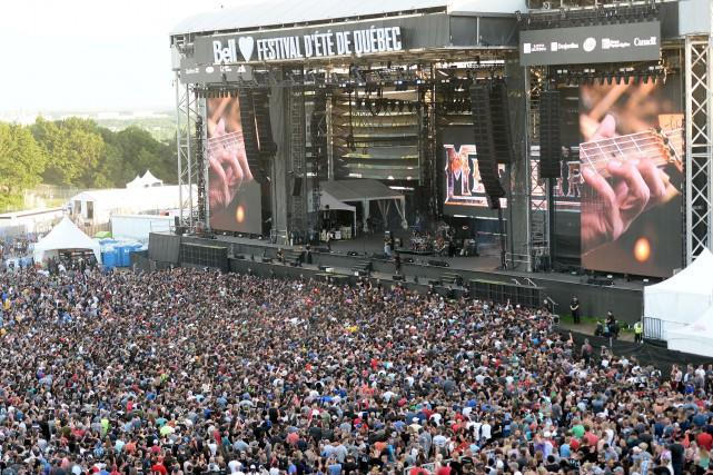 Le Festival d'été est aujourd'hui considéré comme l'un... (Photothèque Le Soleil, Erick Labbé)
