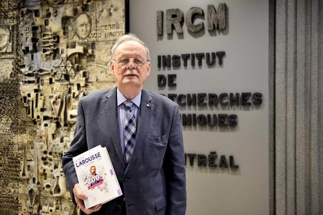 Le Dr Michel Chrétien fait son entrée dans... (Institut de recherches cliniques de Montréal)