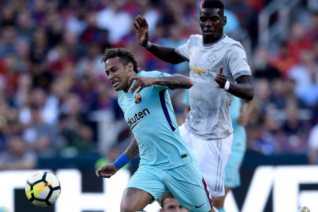 Le FC Barcelone et Neymar participent actuellement à... (AFP, Brendan Smialowski)