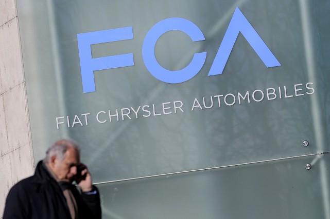 FCA a vendu sur la période 1,225 million... (AFP)