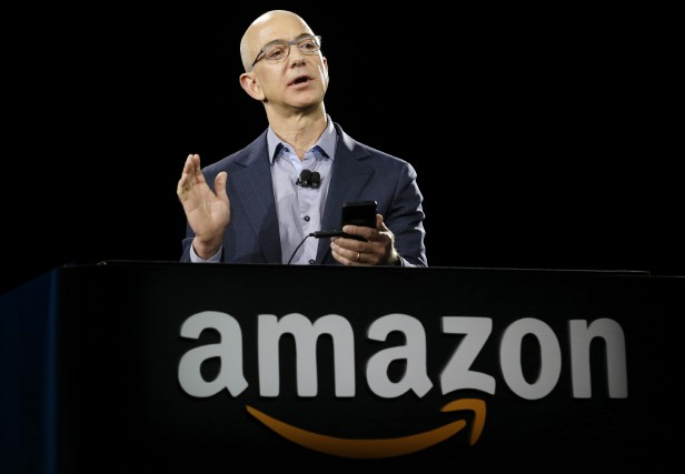 La fortune du PDG d'Amazon Jeff Bezos est... (AP)