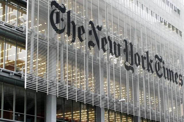 Le journal américain New York Times a gagné 114 000 abonnés en ligne... (PHOTO ARCHIVES AP)