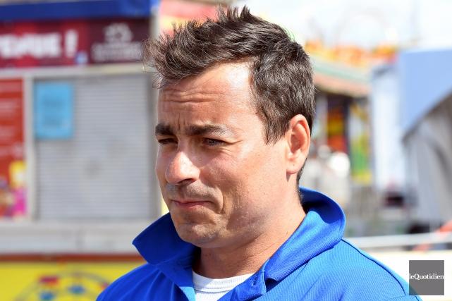 Le gérant d'Amusements Saguenay, Éric Deslongchamps, assure que... (Photo Le Quotidien, Rocket Lavoie)