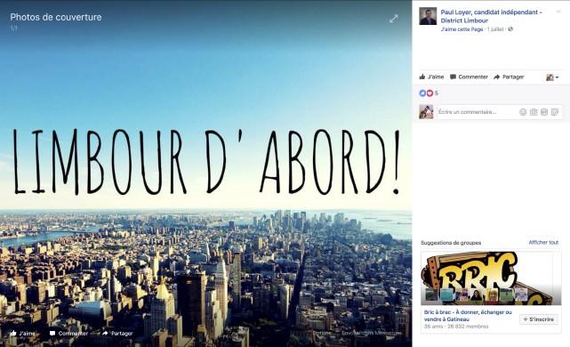 «Pourquoi une photo de New York sur la... (Capture d'écran)