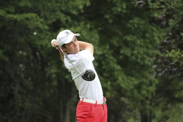 Christopher Vandette est devenu le plus jeune gagnant... (Courtoisie, Golf Québec)