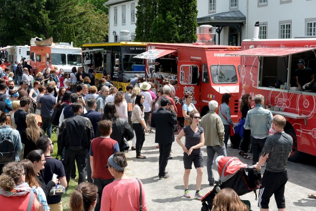 Le camion-restaurant Les Délices de la famille Cortina... (Photothèque Le Soleil, Erick Labbé)