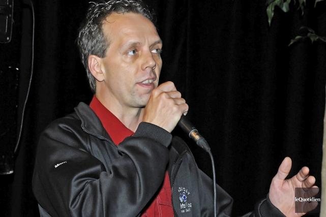 Marc Maltais, conseiller régional du Saguenay-Lac-Saint-Jean de la... (Archives Le Quotidien, Gimmy Desbiens)