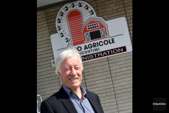 Le directeur général de l'Expo agricole de Chicoutimi,... (Photo Le Quotidien, Rocket Lavoie)