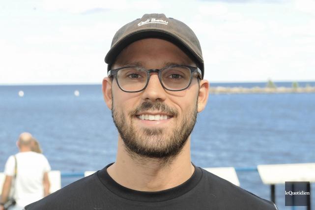 Xavier Desharnais a travaillé sur sa vitesse de... (Photo Le Quotidien, Gimmy Desbiens)