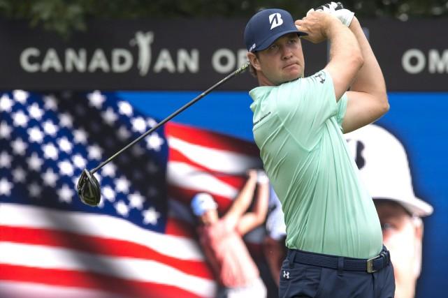 Hudson Swafford est l'un des cinq golfeurs à... (La Presse canadienne, Frank Gunn)