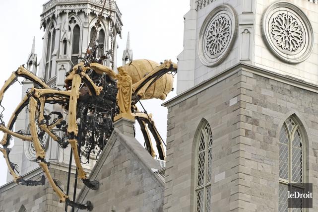 Si Kumo l'araignée a été la première à... (Patrick Woodbury, Le Droit)