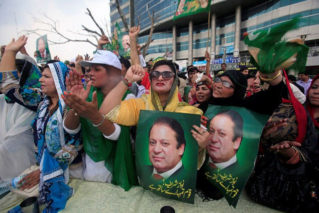 Le premier ministre Nawaz Sharif... (PHOTO MOHSIN RAZA, REUTERS)
