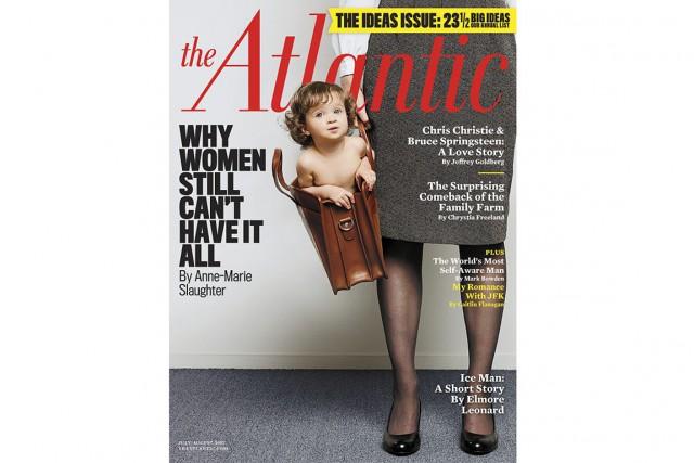 Créé en 1857 à Boston, le magazine The... (Photo couverture du magazine The Atlantic, juillet-août 2012)