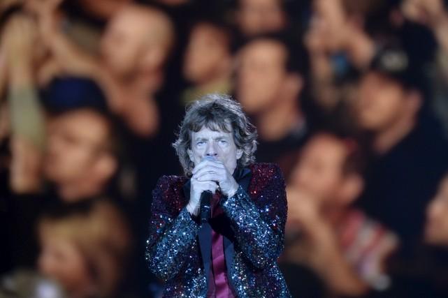 Mick Jagger... (Photothèque Le Soleil, Jean-Marie Villeneuve)