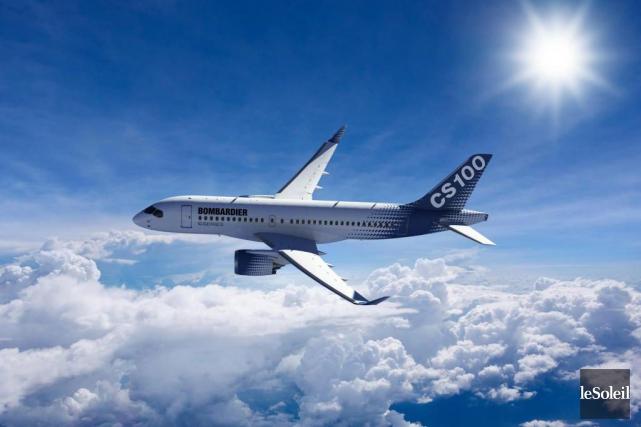 Un CS100 de Bombardier... (Photothèque Le Soleil)