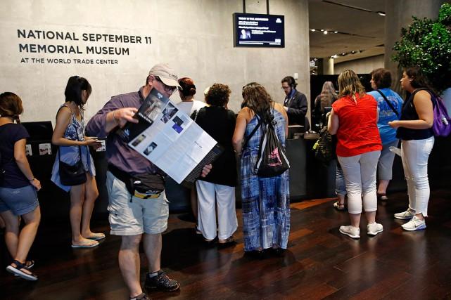 Le musée du 11-Septembre a ouvert ses portes... (PHOTO KATHY WILLENS, ARCHIVES ASSOCIATED PRESS)
