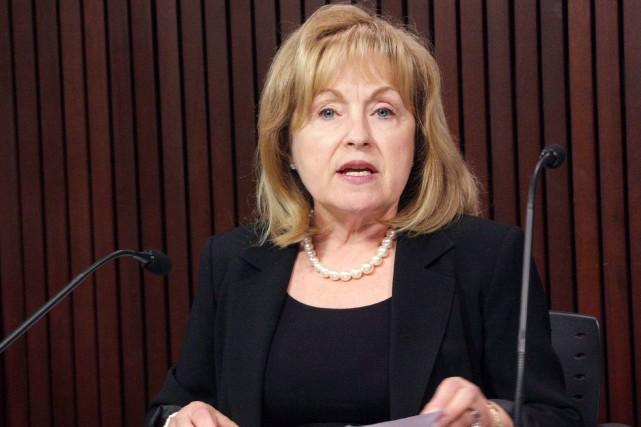 Madeleine Meilleur a été forcée de retirer sa... (Archives La Presse canadienne)
