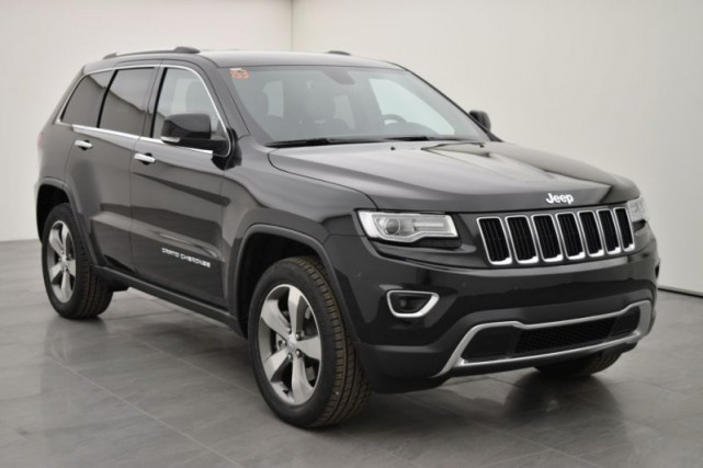 Le Grand Cherokee mu par le V6 ÉcoDiesel... (Photo : Jeep)